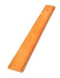 Régua de madeira Foto de Stock