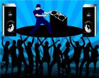 Réguas do DJ Fotos de Stock Royalty Free