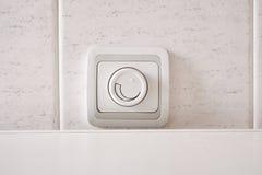 Régulateur d'éclairage léger. Photo stock