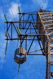 Réjecteur sur la tour électrique image libre de droits