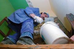 Rénovation à la maison Photos libres de droits