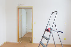 Rénovation à la maison image libre de droits