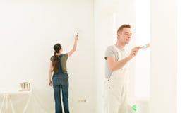 Rénovation à la maison de travail photos libres de droits