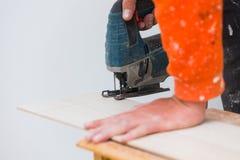 Rénovation à la maison - plancher image libre de droits