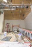 Rénovation commerciale de construction de l'espace Images libres de droits