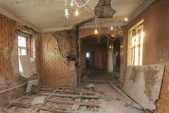 Rénovation d'appartement images libres de droits