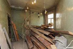 Rénovation d'appartement image libre de droits