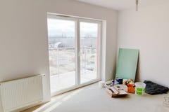 Rénovation d'appartement neuf Image libre de droits