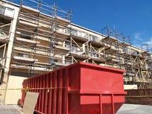 Rénovation dans la progression - construction Image libre de droits