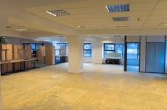 Rénovation de bureaux photo stock