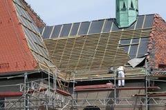 Rénovation de construction Image libre de droits