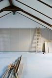 Rénovation de grenier Photographie stock libre de droits