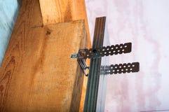 Rénovation de grenier image libre de droits