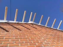 Rénovation de toit Photo stock