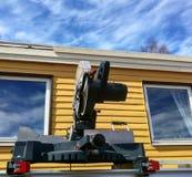 Rénovation de toit Image stock