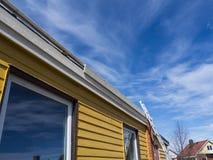 Rénovation de toit Photos stock