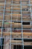 Rénovation de vieux bâtiments Photos stock