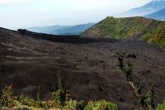 Rénovation du volcan Image stock
