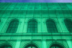 Rénovation néoclassique de construction photo stock