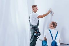 Rénovation professionnelle de maison Images libres de droits