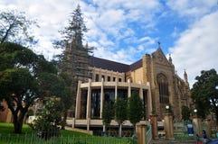 Rénovez la cathédrale du ` s de St Mary à la rue de seigneur de Perth à Perth, Aust photos stock