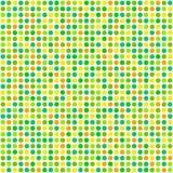 Répétant des points de polka de modèle - ressort photographie stock libre de droits