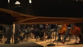 Répétition d'orchestre symphonique banque de vidéos
