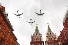 Répétition de défilé de la Russie Images libres de droits
