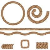 Répétition de l'icône de modèle de corde Photographie stock