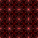 Répétition de la fleur abstraite géométrique Images libres de droits
