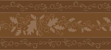 Répétition du drapeau d'automne Photos stock