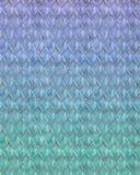 Répétition du modèle espiègle d'échelle de poissons de sirène illustration de vecteur