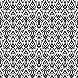 Répétition du modèle du losange et des places sur un backgro monochrome Photographie stock