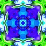 Répétition simple de kaléidoscope de batik Photos stock