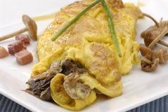 Répand l'omelette. Image libre de droits