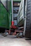 Réparateur de pneu Images stock