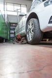 Réparateur de pneu Image stock