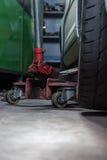 Réparateur de pneu Photographie stock