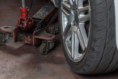 Réparateur de pneu Image libre de droits