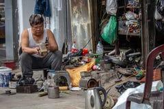 Réparateur local Hanoï Photos stock
