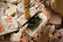 Réparation à la maison électrique Photos stock