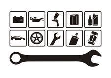 réparation automatique Photo stock