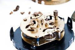 Réparation d'horloge Photographie stock libre de droits