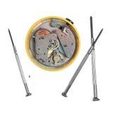 Réparation d'horloge d'alarme Image libre de droits