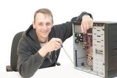 Réparation d'ordinateur Images stock