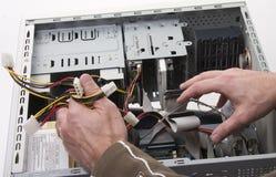 réparation d'ordinateur Photo stock