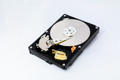 Réparation d'un composant d'ordinateur Image stock