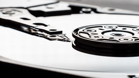Réparation d'un composant d'ordinateur Images libres de droits