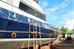 Réparation de bateau Photographie stock libre de droits