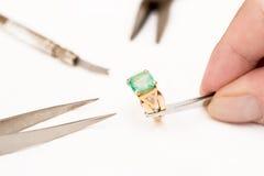 Réparation de bijoux photographie stock